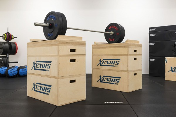 Xenios Jerk Blocks Set Holz