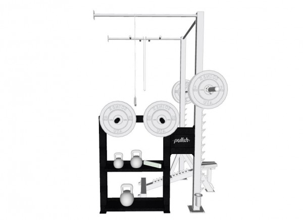 pullsh Weight Bord Add-On für Rack