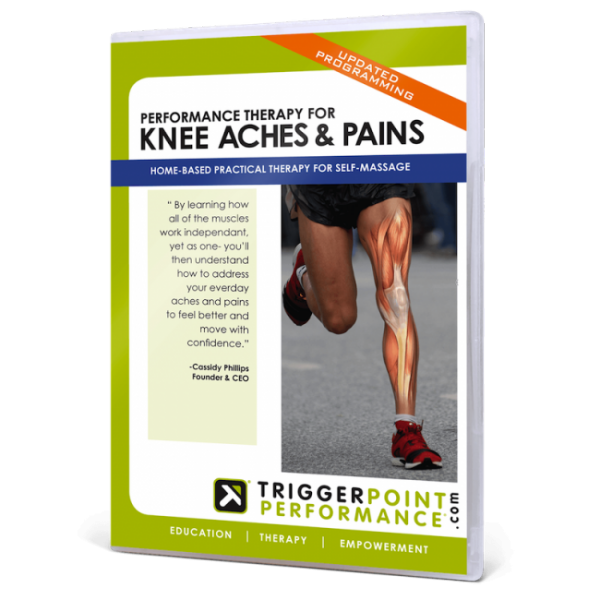 Performance Therapy for Knee Aches & Pains DVD (SALE!)