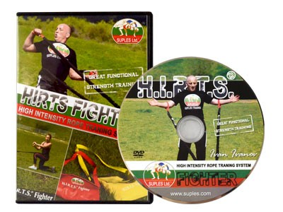 Hirts Fighter - High intensity rope training system DVD (SALE!)