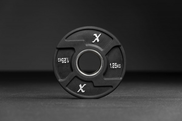 Xenios Black Rubber X-Grips Olympic Plate